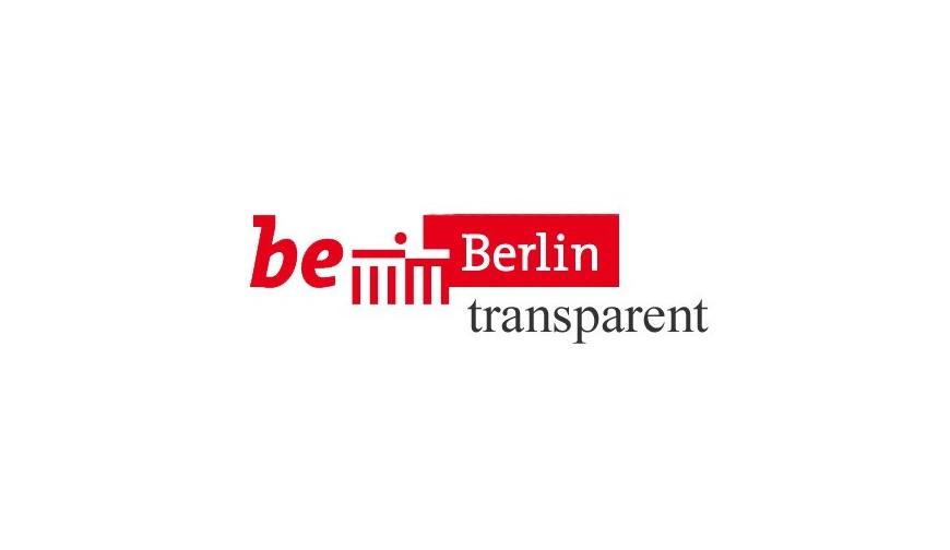 Eintrag des Vereins in die Transparenzdatenbank Berlin