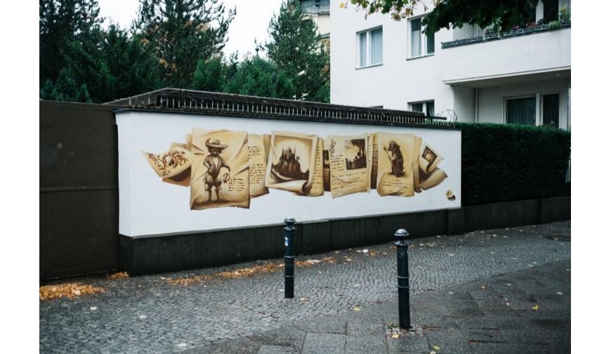 Verschönerung im Kiez: Gebrüder Grimm in der Großgörschenstraße